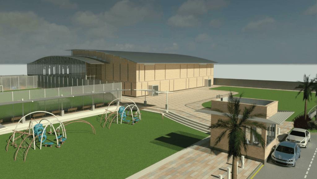 New Building + Playground